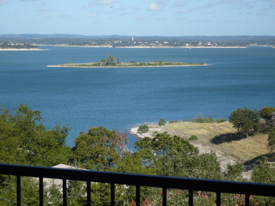 Canyon Lake from rental house balcony