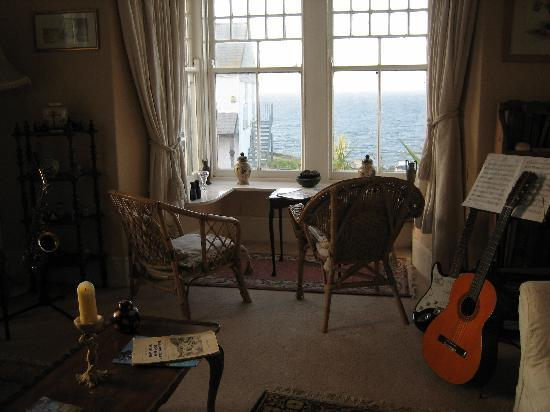 The Bay Hotel: music room
