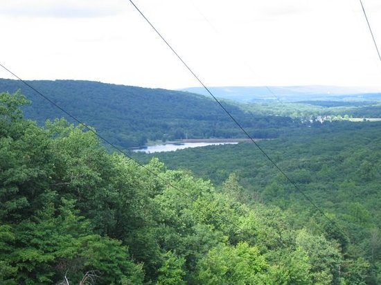 Locust Lake State Park: lookout