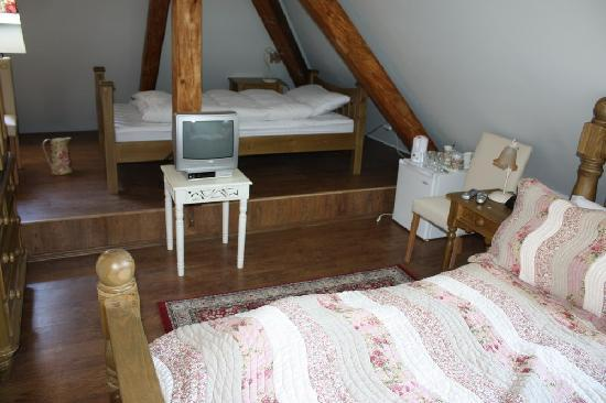 Pension Grant: Our room