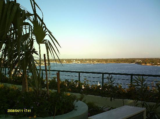 Harbour View Suites: The stunning view from the rooftop terrace, the perfect place for an early evening sundowner.