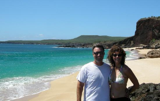 West Molokai Resort: hiked here in less than 15 minutes!