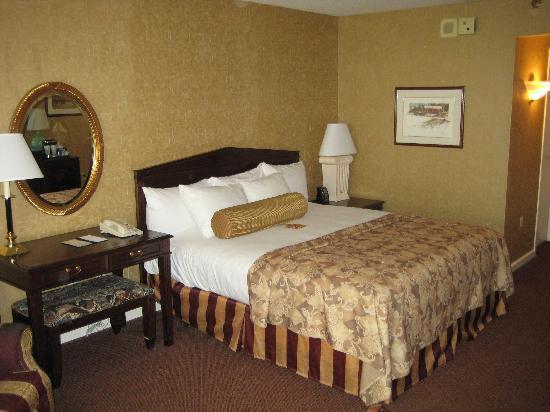 Hilton Harrisburg: Nice bed