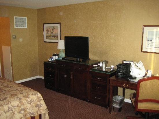 Hilton Harrisburg: Flat TV