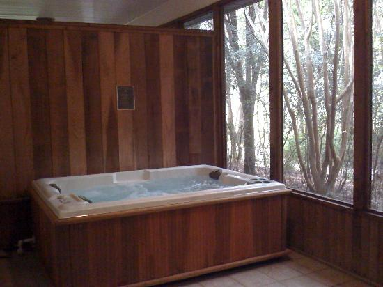 Kiepersol Estates Bed and Breakfast: Jacuzzi on private patio