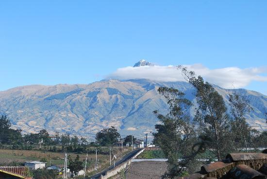 Hostal Las Palmeras : Mountain view from Ls Palmeras