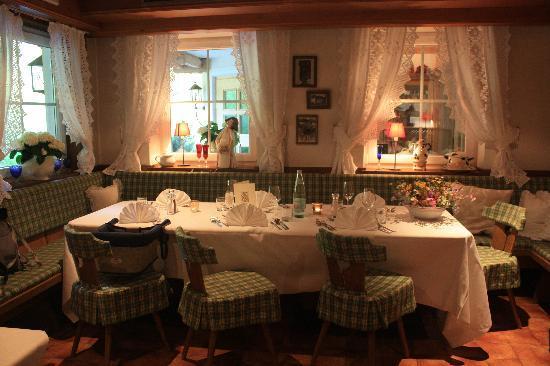 Rodengo, إيطاليا: il tavolo al ristorante