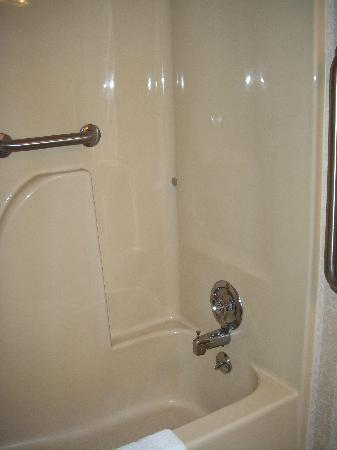 Comfort Inn Utica: shower
