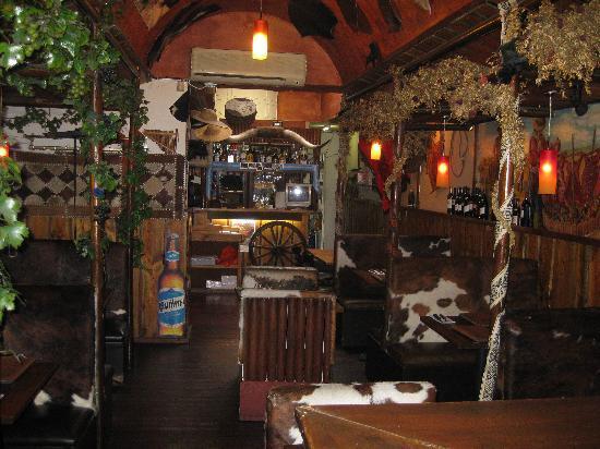 Inside El Rancho