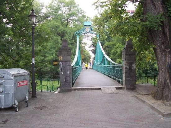 Opole, Polen: Zielony Mostek The Green Bridge