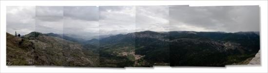 El valle de Cazorla lluvioso