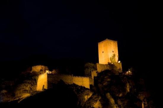 Castillo de Cazorla por la noche
