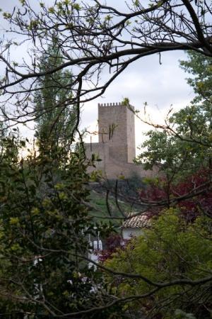 Cazorla, สเปน: Castillo desde el Molino de la Farraga