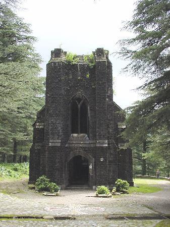 Naddi, India: Kirche nahe Mc Leodganj