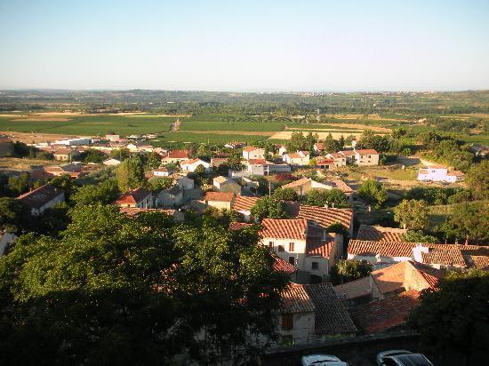 Murviel-les-Beziers, Frankrike: Une vue magnifique