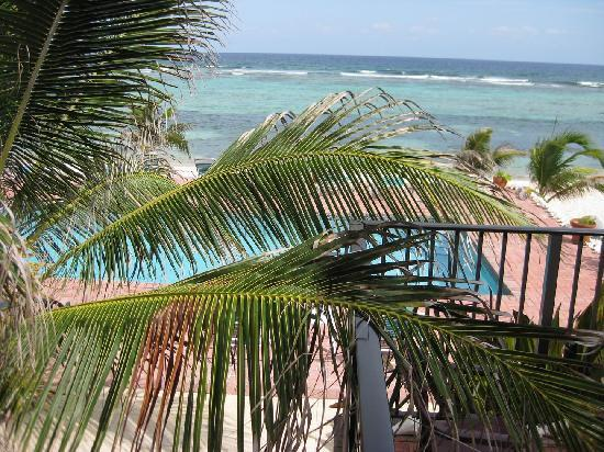 Bodden Town, Grand Cayman: View from our room