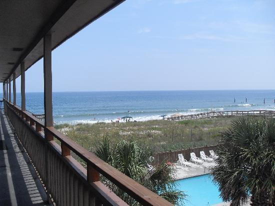 Oceaneer Motel: Oceanview, 3rd floor