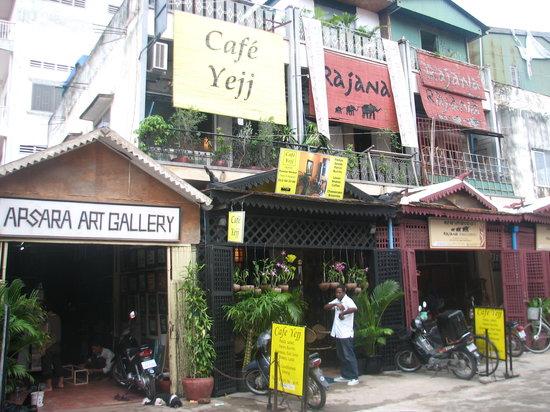 Front of Cafe Yejj