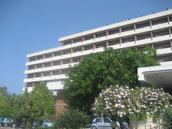 Hotel Club Costa Verde : entrée hotel