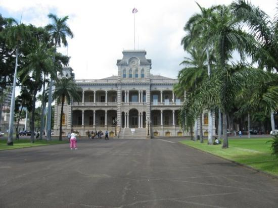 Iolani Palace: Day 7: Where an otherwise great vacation came to a horrid end.