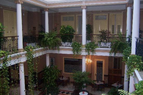 Hotel Aguere: Patio interior