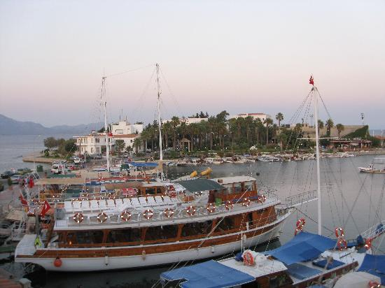 Datca, Turquía: Island on which hotel is