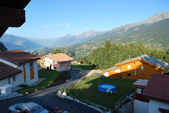Chalet des Alpes: View from our room