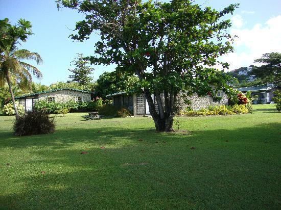 Lance Aux Epines Cottages: Cottage garden view 2