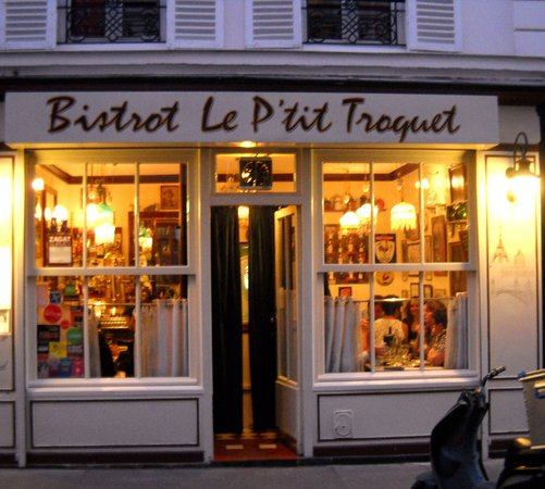 Restaurant Le Petit Troquet Paris