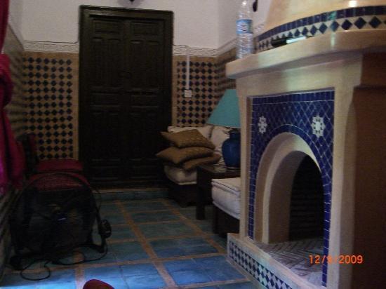 Riad Abbassia: Turquoise Room