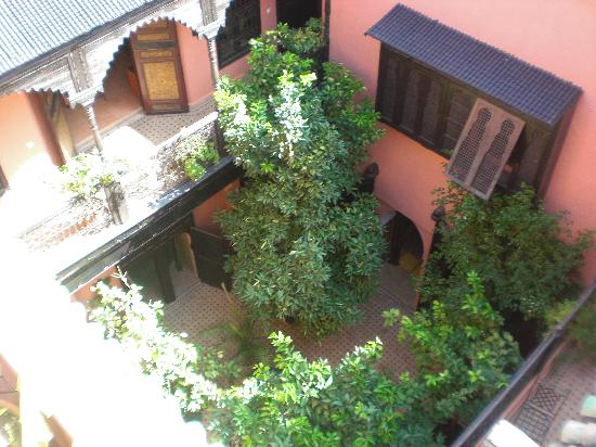 Riad Abbassia: The beautiful courtyard