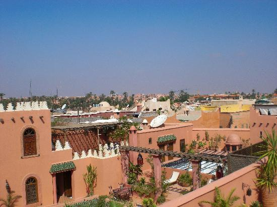 Riad Abbassia: The view from the top of the Riad