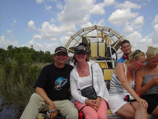 Travelodge Fort Myers North: Airboat ride in the Everglades