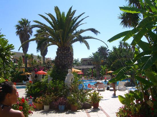 Apollon Hotel: Hotel / garden