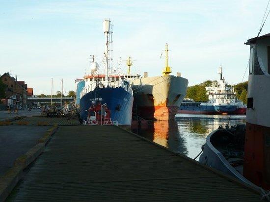 Falkenberg přístav