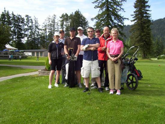 The Hospitality Inn: Golfing at Port Alberni GC