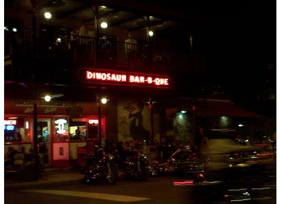 Syracuse, NY: Outside Dinosaur BBQ