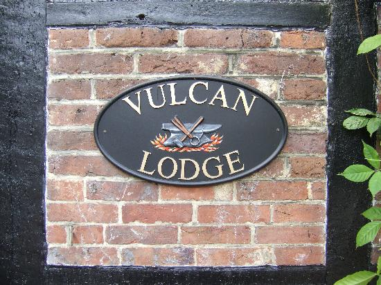 Vulcan Lodge Guest House: Vulcan Lodge Placque