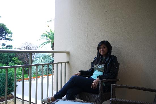Holiday Inn Cannes: at balcony