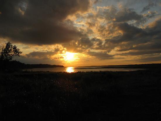 Cambra Sands: Beautiful sunset