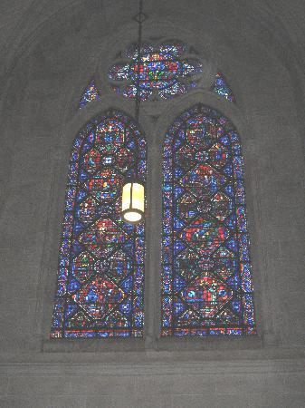 Cathedral Church of Saint John the Divine: Stained glass window