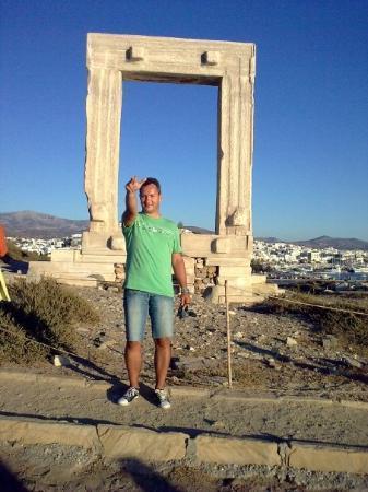 Ciudad de Naxos, Grecia: Naxos, Portara si eu...