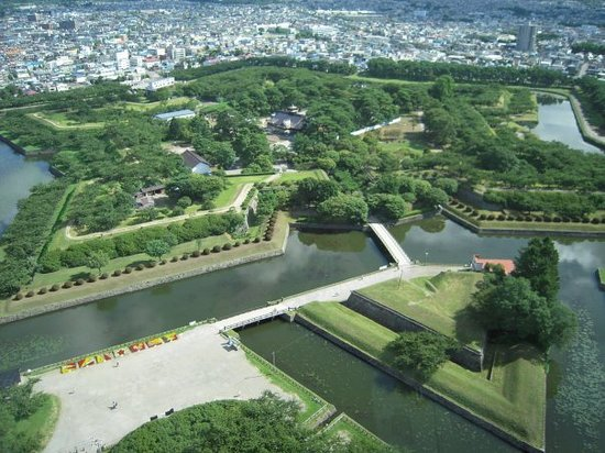 Hakodate, Japan: goryokaku, a star fort