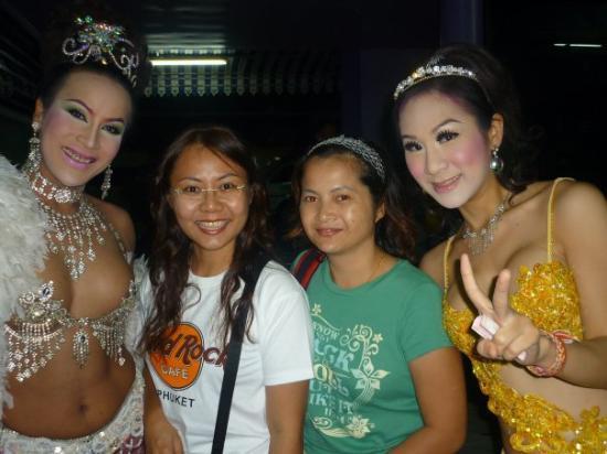 Phuket Simon Cabaret: Lady boys