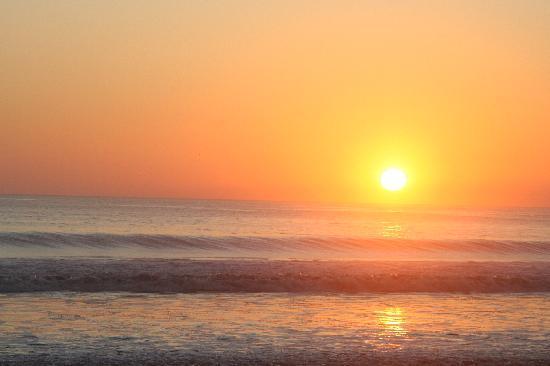 Hotel Punta Teonoste: sunset