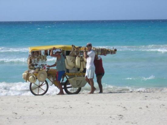 Varadero Cuba Beach Vendor Picture Of Varadero