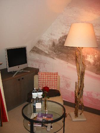 A-ROSA Resort Kitzbühel: unser Zimmer 1