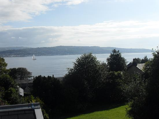 Kilcreggan Hotel: view from our room