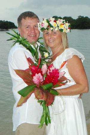 Nukubati Private Island : Our Wedding