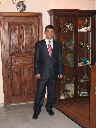 Yusuf Pasa Konagi Special Class: C.Yildirim in the lounge